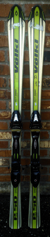 Up for sale volkl p f energy skis cm with carve